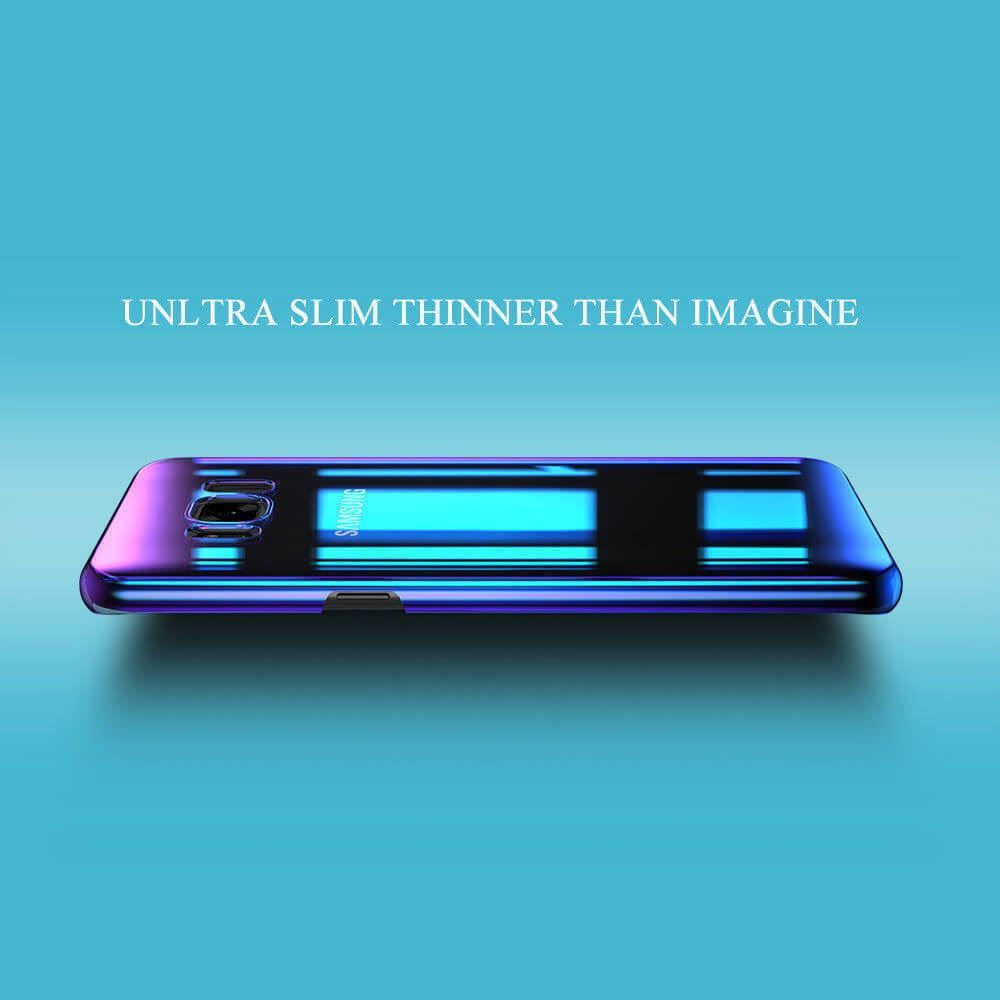 Blu-Ray-Gradient-Colour-Mirror-Hard-Back-Case-Cover-For-Samsung-Galaxy-S7-S8-S9 Indexbild 27