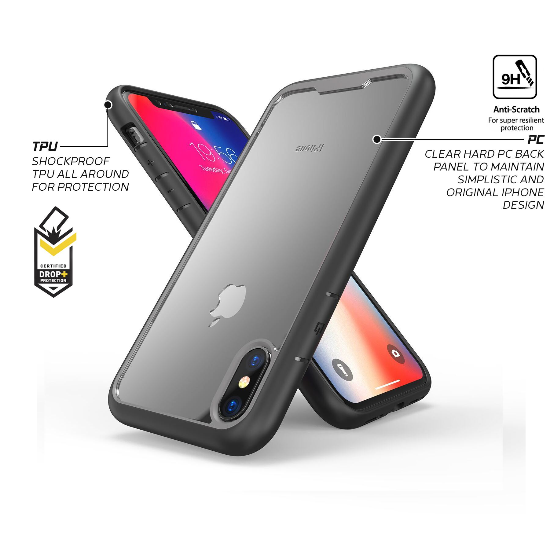thumbnail 41 - For Apple iPhone XR Xs Max X 8 7 Plus 6 Se 2020 Case Cover Clear Shockproof Thin