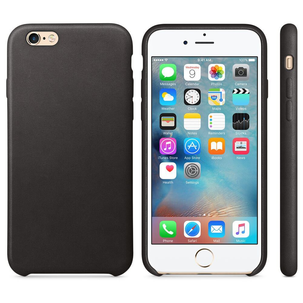Original-PU-Soft-Silicone-Leather-Slim-Case-Cover-Apple-iPhone-10-8-7-Plus-6s-5 miniatuur 20