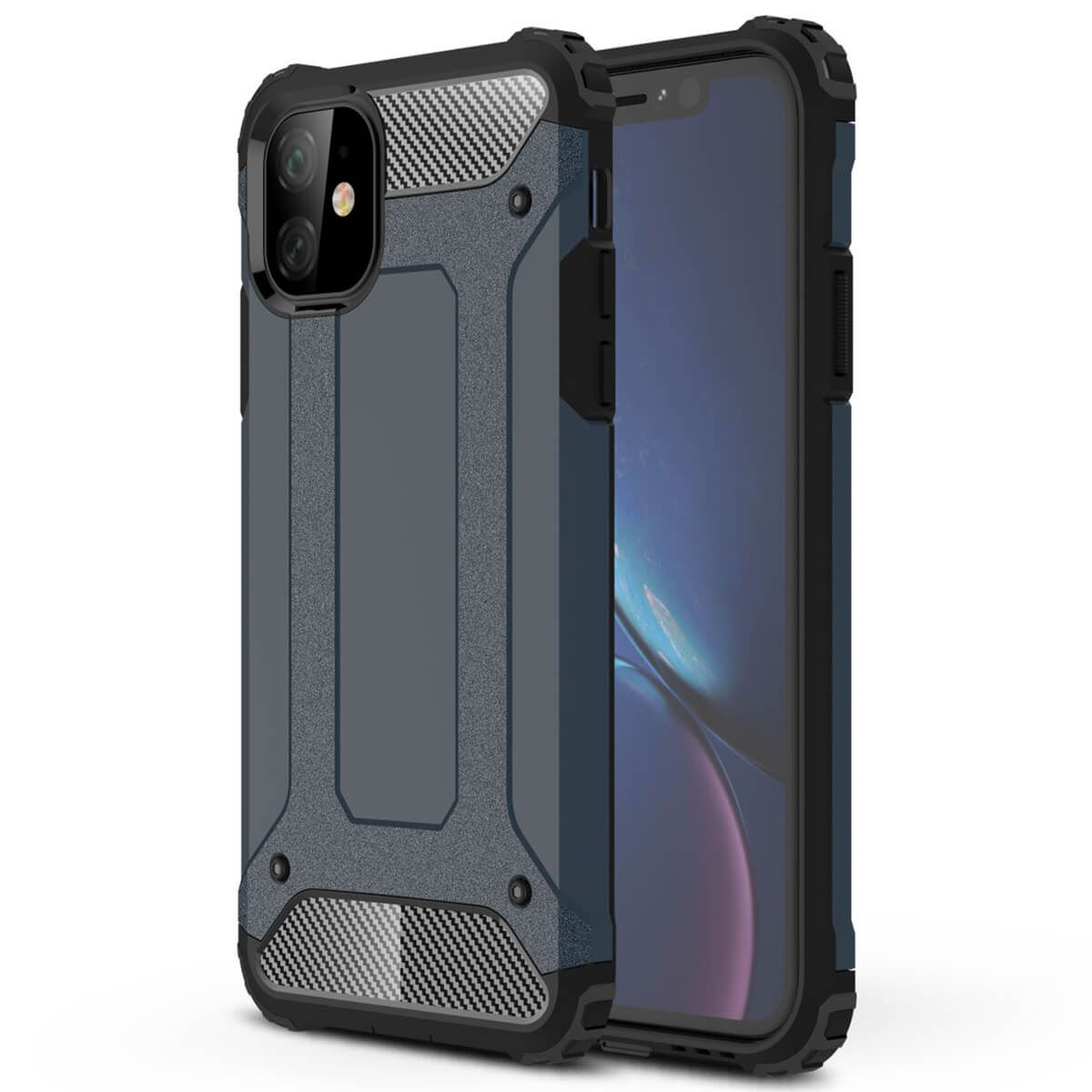 Shockproof-Bumper-Case-For-Apple-iPhone-10-X-8-7-Plus-6s-5s-Hybrid-Armor-Rugged thumbnail 5