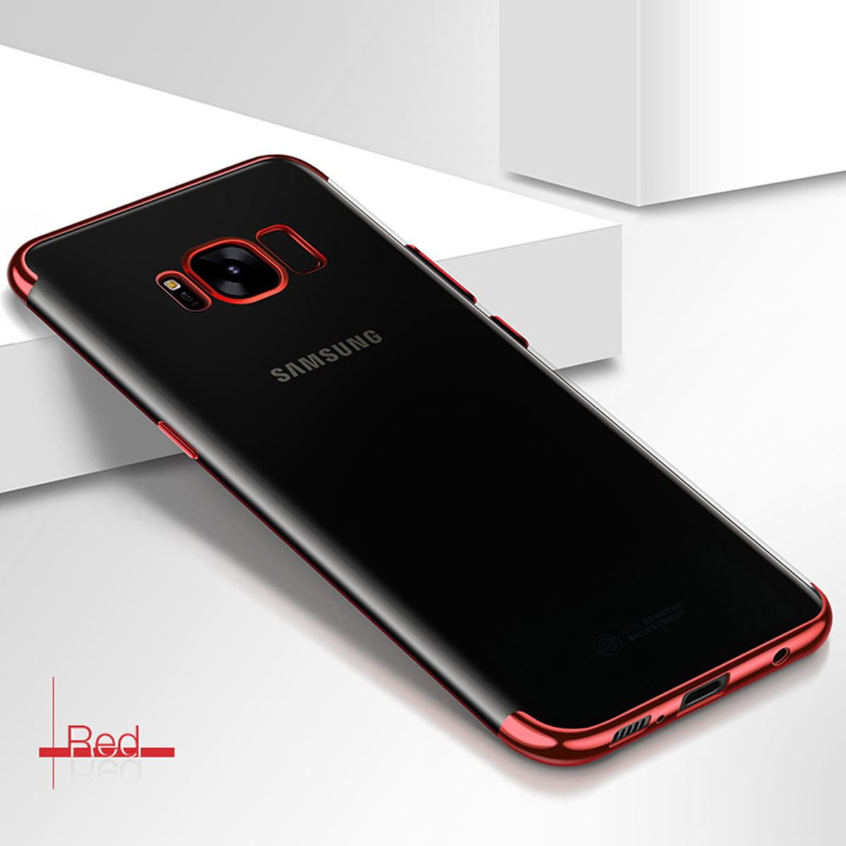 Luxury-Slim-Shockproof-Silicone-Clear-Case-Cover-For-Samsung-Galaxy-S7-S8-S9-A6 thumbnail 25