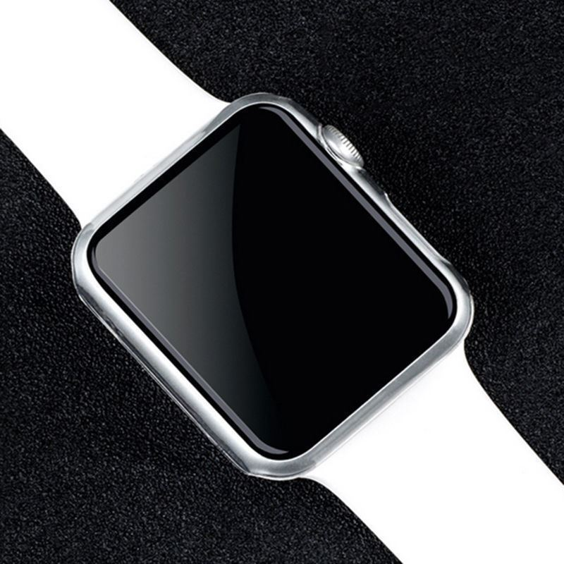 TPU-Gel-Case-For-Apple-Watch-Responsive-Touch-Full-Screen-Curved-Edge-Protective thumbnail 6