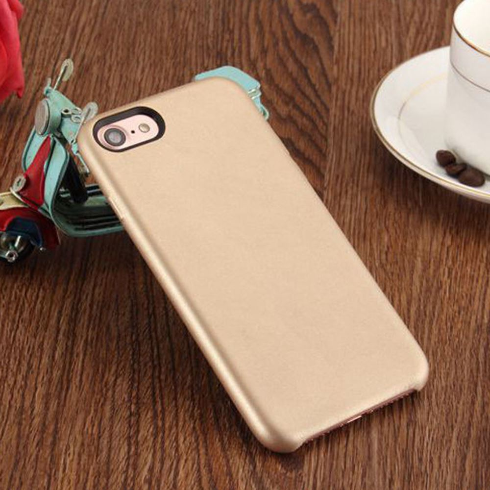 Original-PU-Soft-Silicone-Leather-Slim-Case-Cover-Apple-iPhone-10-8-7-Plus-6s-5 miniatuur 34
