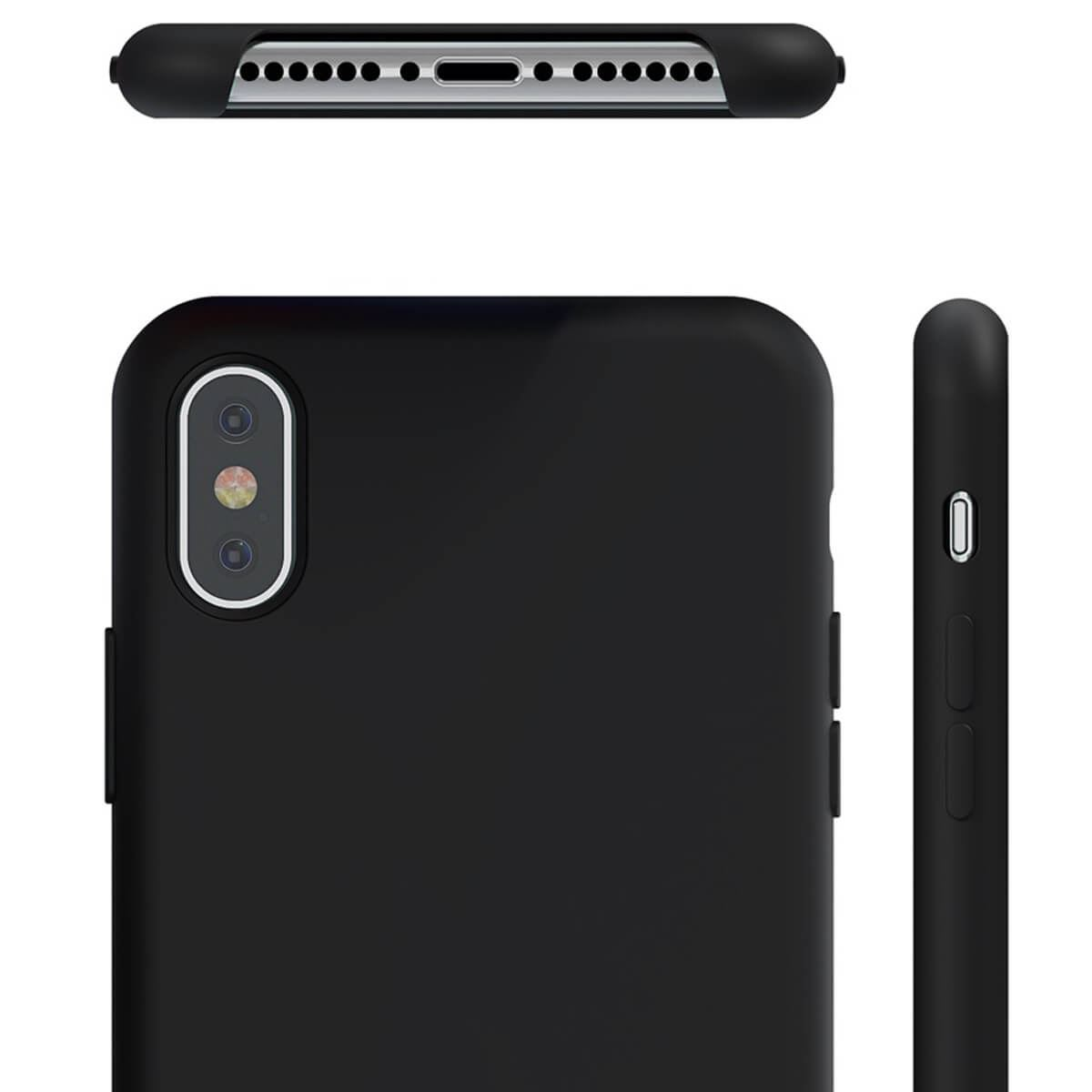 Liquid-Silicone-Phone-Case-For-Apple-iPhone-Soft-Shockproof-Matte-Back-Cover thumbnail 3