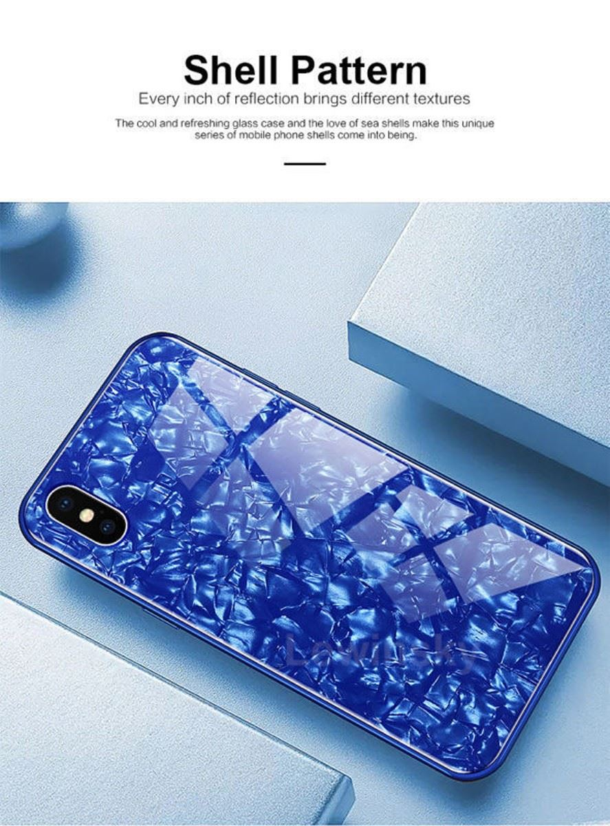 Luxury-Marble-Tempered-Glass-Case-Cover-For-Apple-iPhone-X-XS-XR-Max-10-8-7-6s-6 thumbnail 39