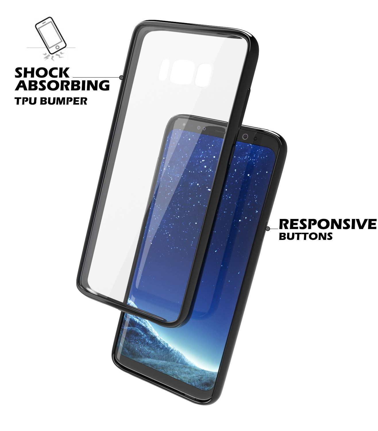 Samsung-Galaxy-S8-S9-Note-8-Shockproof-TPU-Bumper-Gel-Crystal-Clear-Case-Cover 縮圖 17
