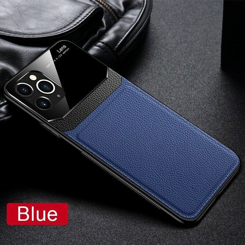 Leather-Back-Cover-Case-For-Apple-iPhone-11-X-8-7-6-Se-Protective-Lens-amp-Screen thumbnail 13