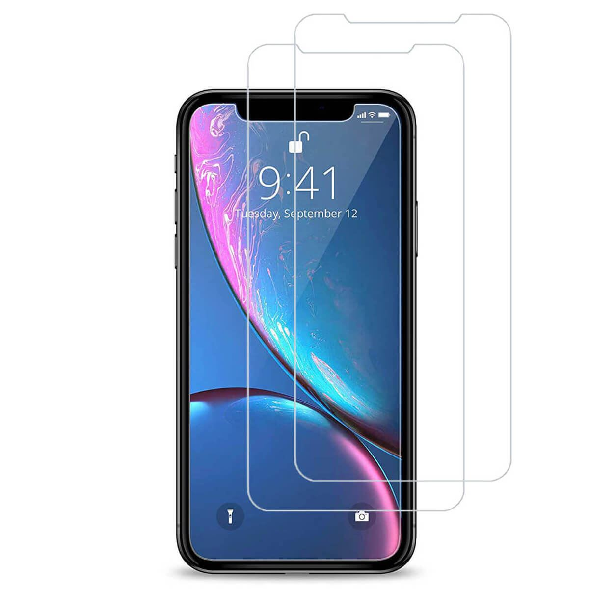Tempered-Glass-Film-Screen-Protector-For-iPhone-12-Pro-Max-Mini-XR-XS-Max-8-7-6s thumbnail 77