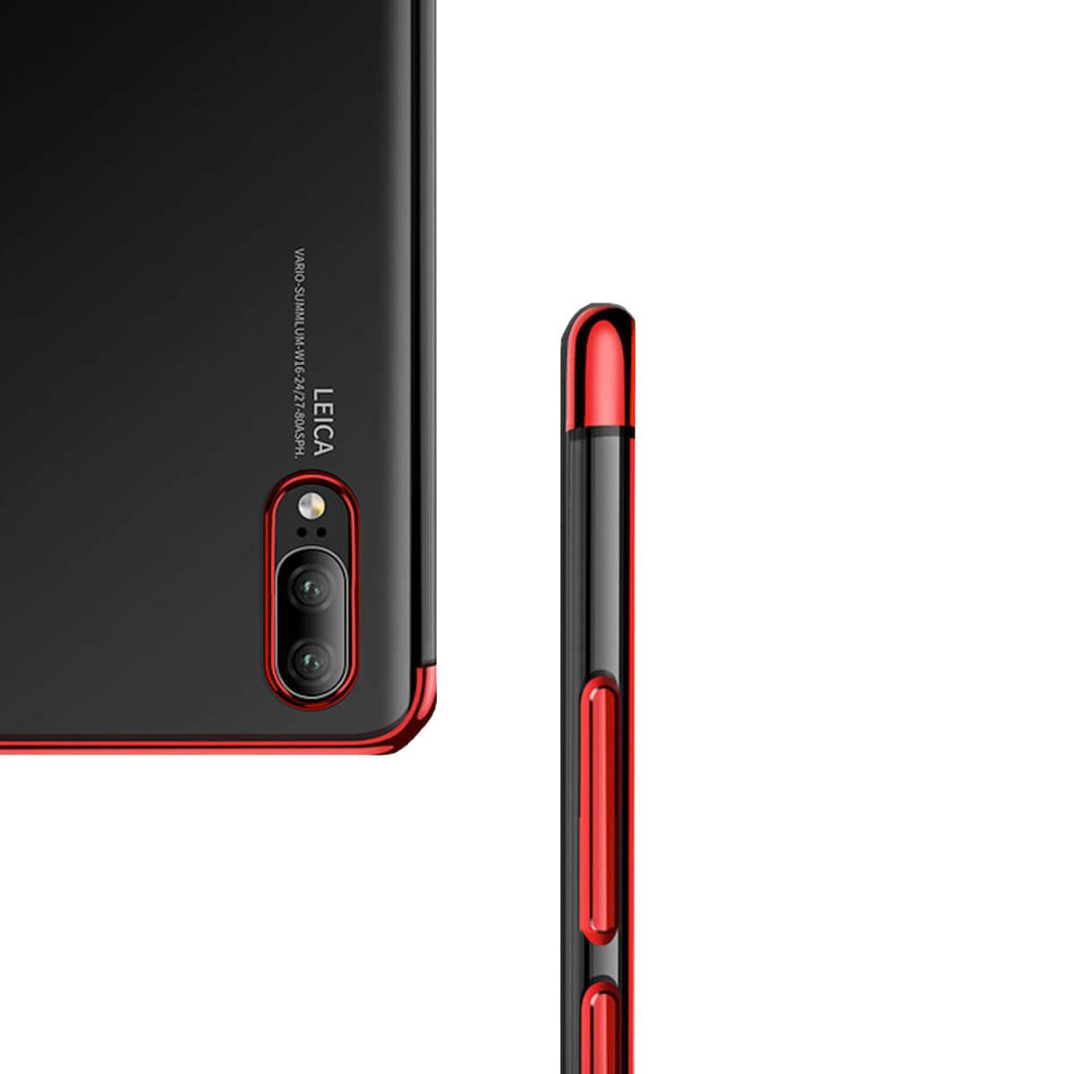 Case-For-Huawei-P20-Pro-P-Smart-Stylish-Hybrid-Shockproof-Plating-Silicone-Cover thumbnail 3