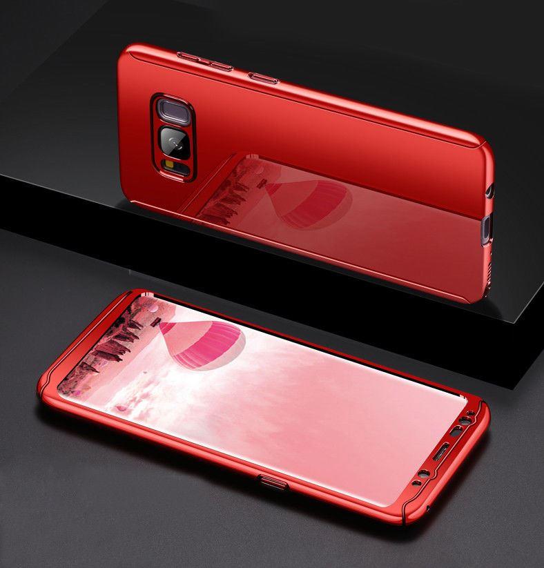 Shockproof-Hybrid-360-Ultra-Thin-Mirror-Hard-Case-Samsung-Galaxy-S7-edge-S8-S9 thumbnail 59