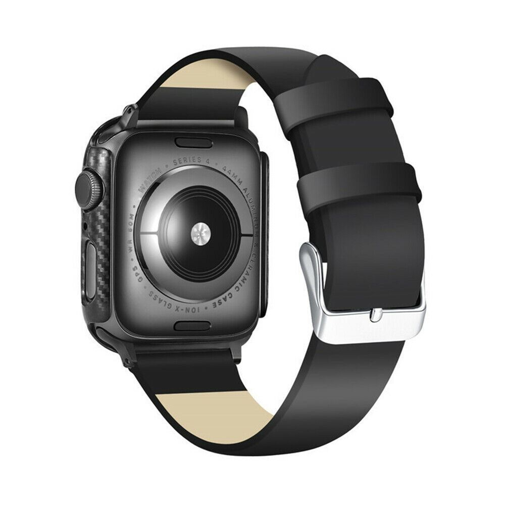 Protective-Carbon-Case-For-Apple-Watch-Black thumbnail 8