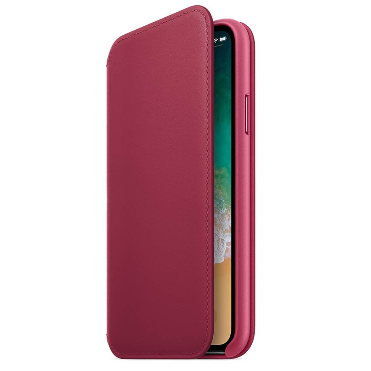 Genuine-Leather-Folio-Flip-Wallet-Case-Cover-For-Apple-iPhone-X-8-7-6S-6-Plus thumbnail 46