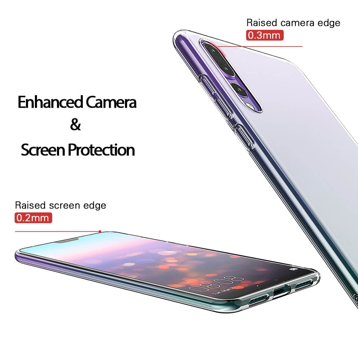 Shockproof-Silicone-Protective-Clear-Gel-Cover-Case-For-Huawei-P20-Pro-P-Smart thumbnail 80
