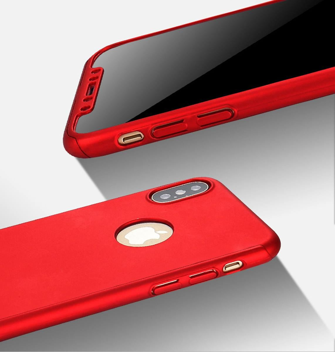 For-Apple-iPhone-XS-Max-XR-Hybrid-360-Slim-Ultra-Thin-Heavy-Duty-Shockproof-Case thumbnail 42