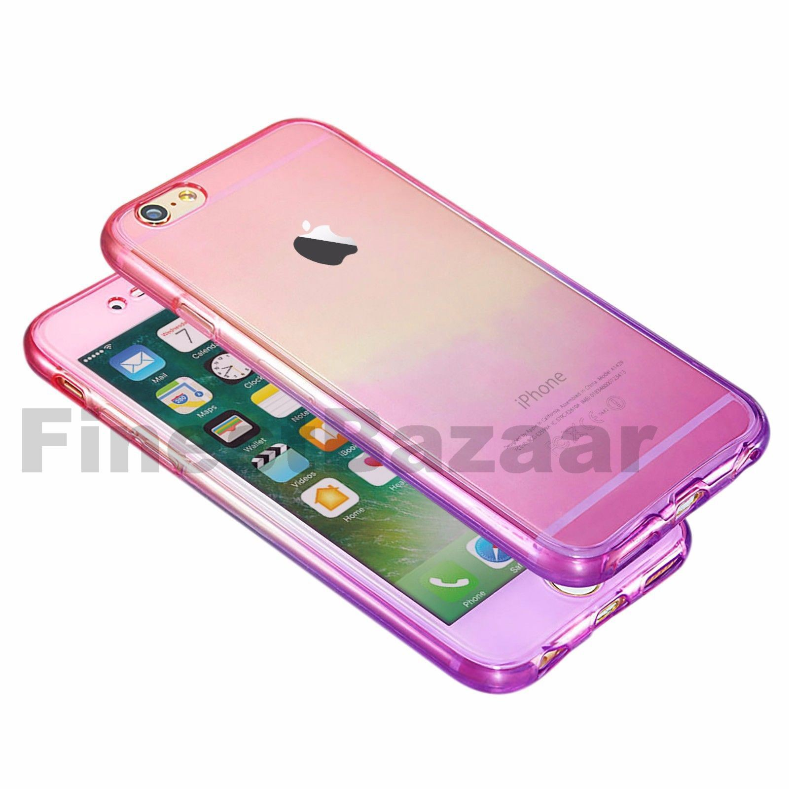 Hybrid-360-New-Shockproof-Case-TPU-Gel-Skin-Cover-For-Apple-iPhone-8-7-5s-6s-SE miniature 54