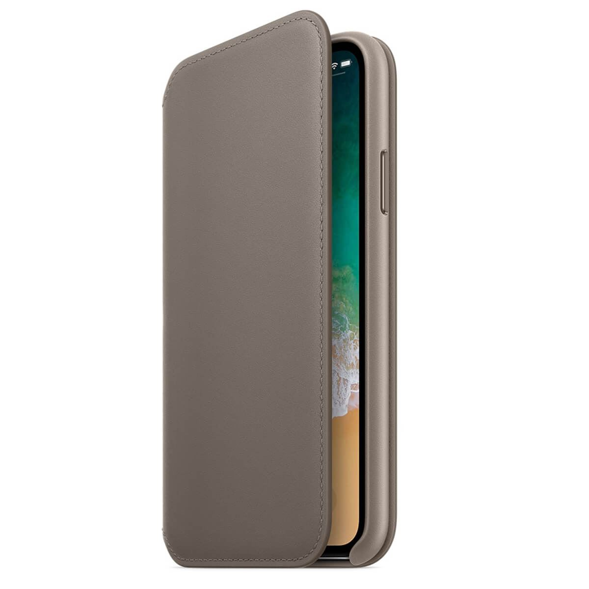 Genuine-Leather-Folio-Flip-Wallet-Case-Cover-For-Apple-iPhone-X-8-7-6S-6-Plus thumbnail 32