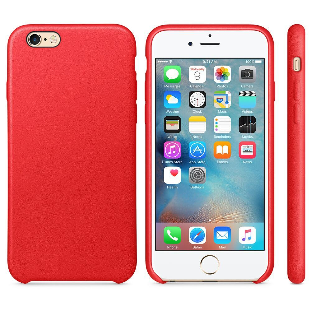 Original-PU-Soft-Silicone-Leather-Slim-Case-Cover-Apple-iPhone-10-8-7-Plus-6s-5 miniatuur 15