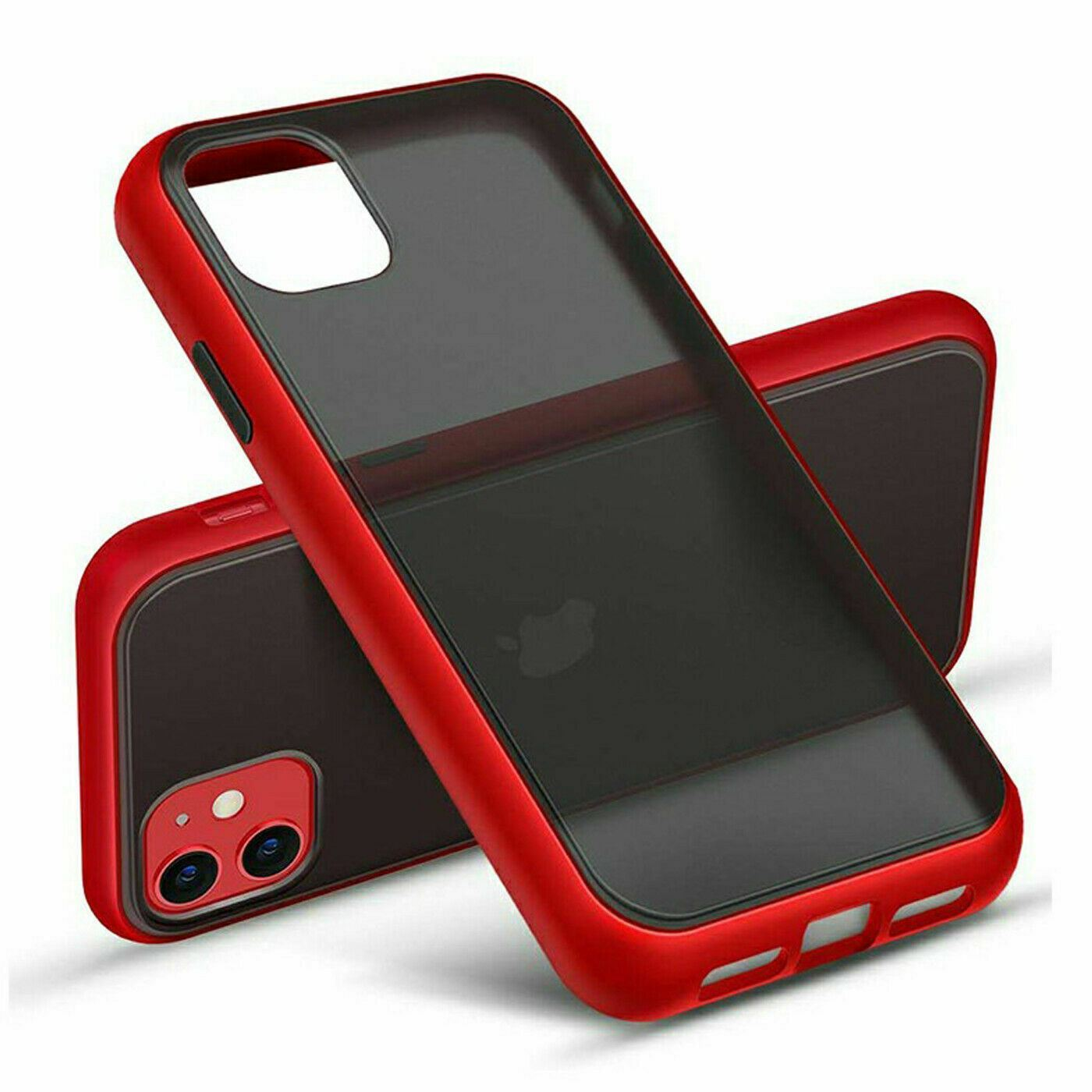 thumbnail 35 - Bumper Anti-Fall Case For Apple 11 X 8 7 6 Se Ultra Thin TPU & PC Cover