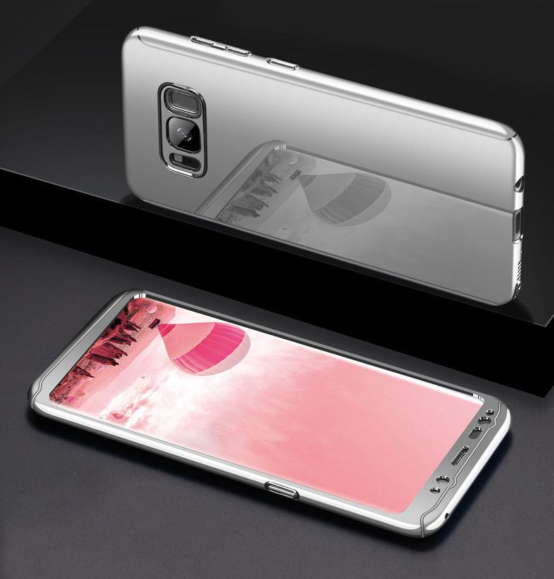 promo code 89450 5a731 Details about Shockproof Hybrid 360 Ultra Thin Mirror Hard Case Samsung  Galaxy S7 edge S8 S9 +