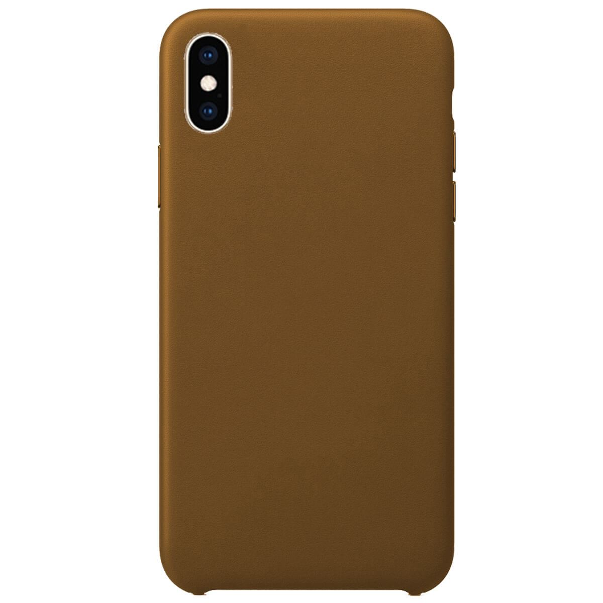 Leather-Slim-Case-Apple-iPhone-10-8-7-Plus-6s-5-Original-PU-Soft-Silicone-Cover thumbnail 13