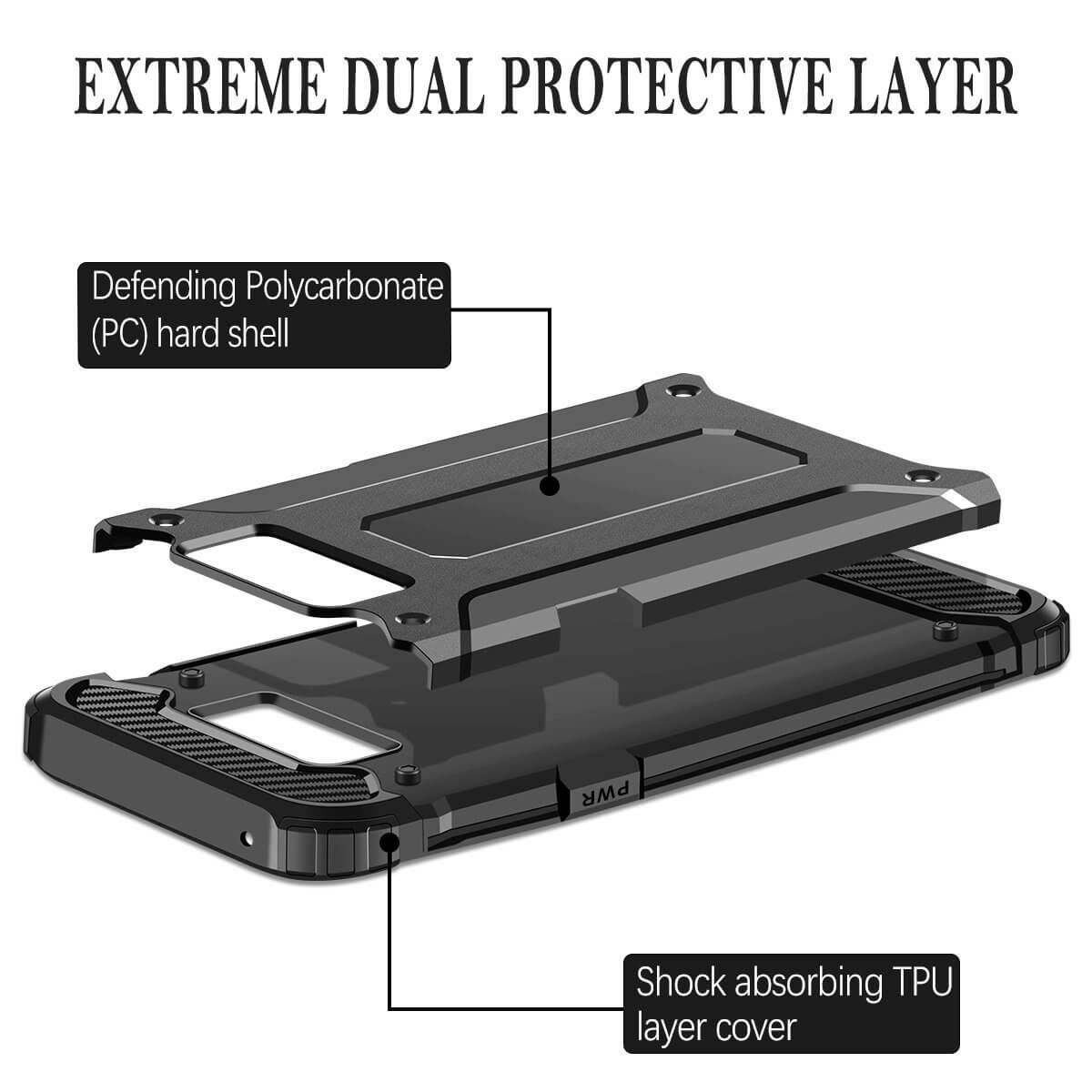 Hybrid-Armor-Shockproof-Rugged-Bumper-Case-For-Samsung-Galaxy-S7-Edge-S8-Note-S9 縮圖 14