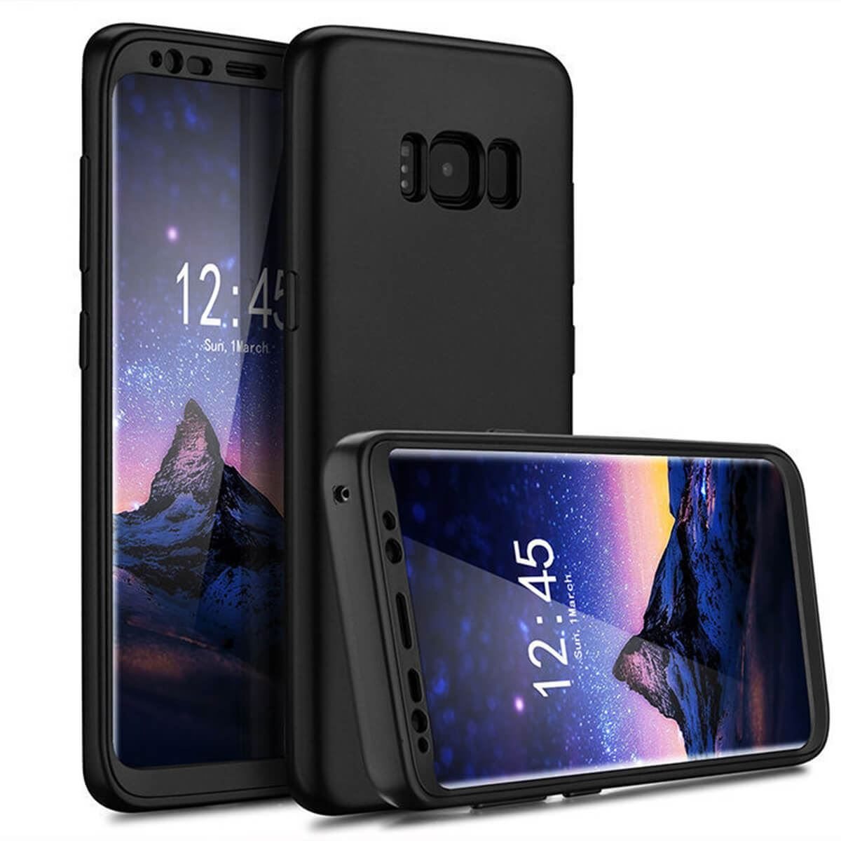 New-ShockProof-Hybrid-360-TPU-Thin-Case-Cover-For-Samsung-Galaxy-S7-edge-S8-S9 miniatuur 20