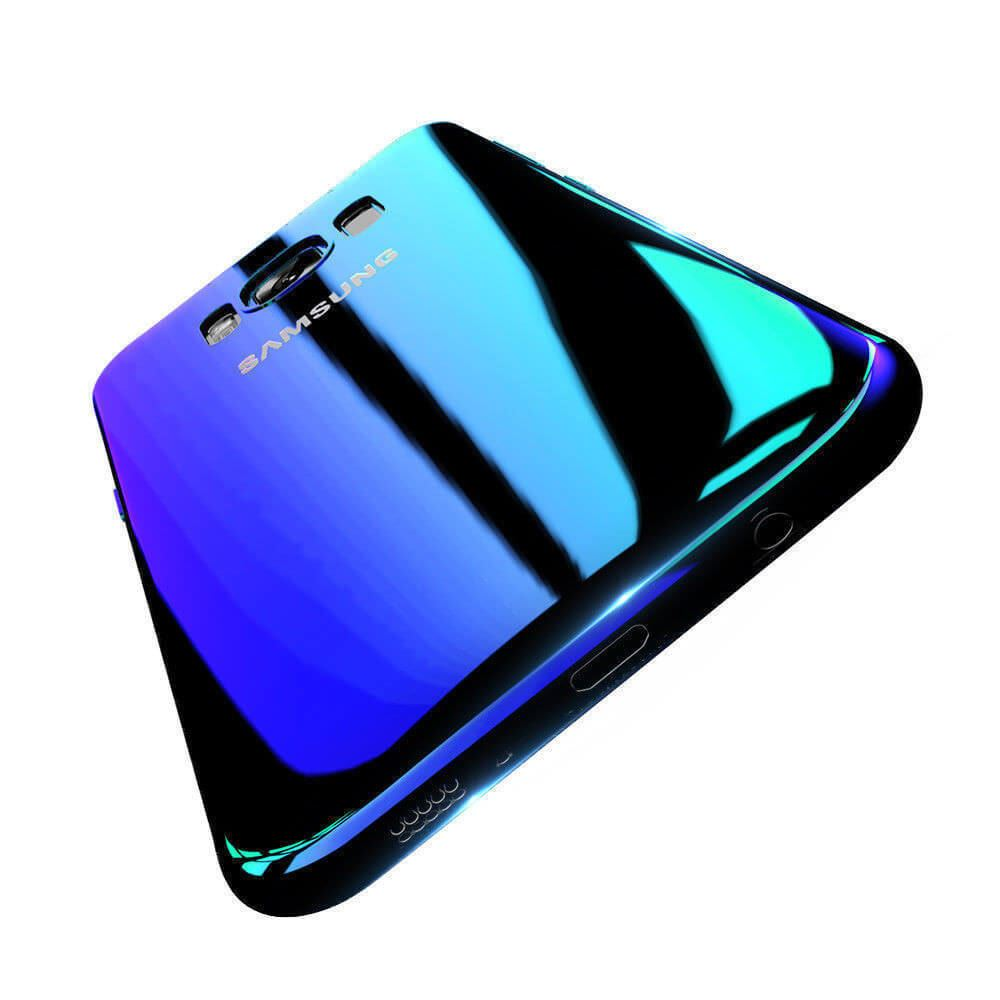 Blu-Ray-Gradient-Colour-Mirror-Hard-Back-Case-Cover-For-Samsung-Galaxy-S7-S8-S9 Indexbild 22