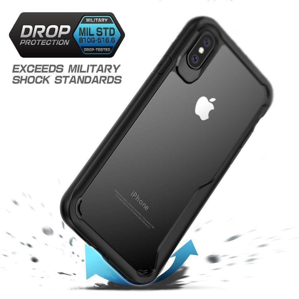 Shockproof-Clear-Thin-Hard-Bumper-TPU-Case-Cover-For-Apple-iPhone-X-8-7-Plus-6s miniatuur 23