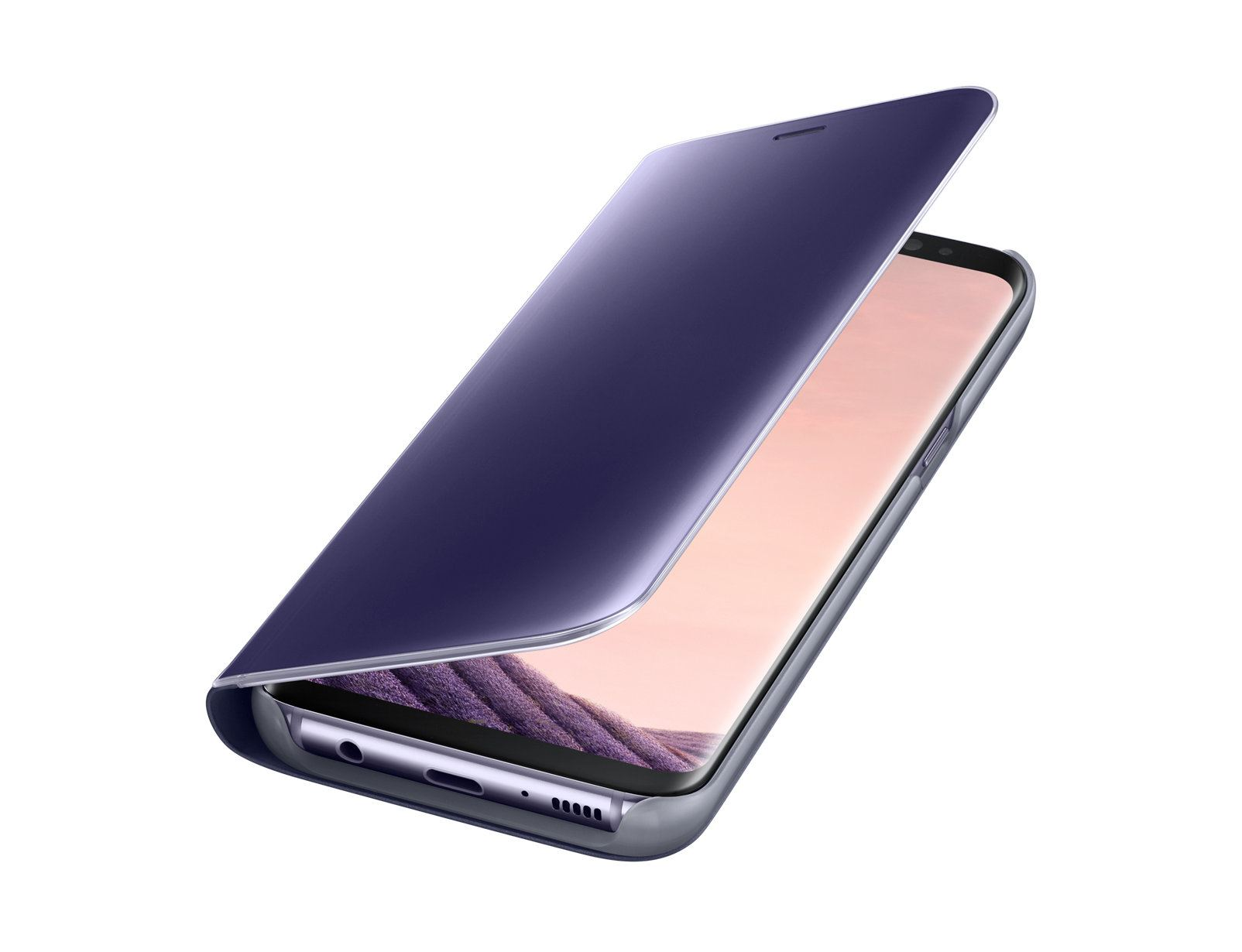 New-Samsung-Galaxy-S8-S9-S10-Smart-View-Mirror-Leather-Flip-Stand-Case-Cover thumbnail 29