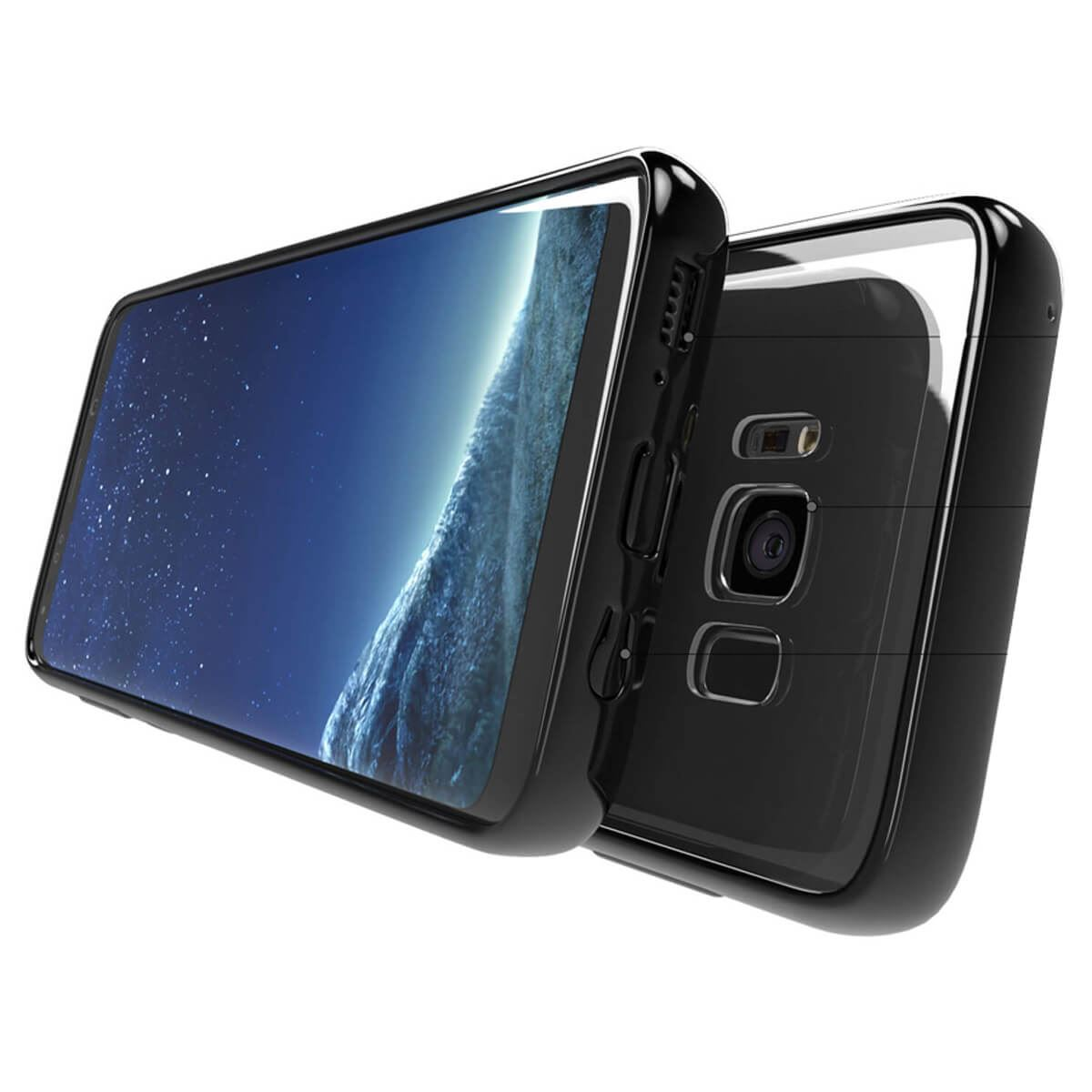 Shockproof-TPU-Bumper-Case-Samsung-Galaxy-S8-Plus-Note-8-Gel-Crystal-Clear-Cover thumbnail 5