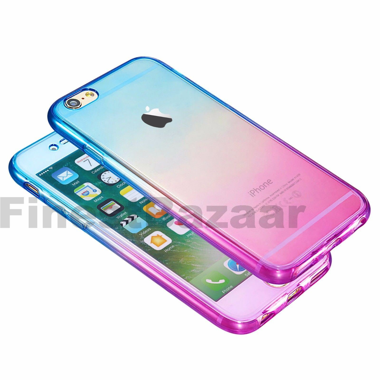 Hybrid-360-New-Shockproof-Case-TPU-Gel-Skin-Cover-For-Apple-iPhone-8-7-5s-6s-SE miniature 26
