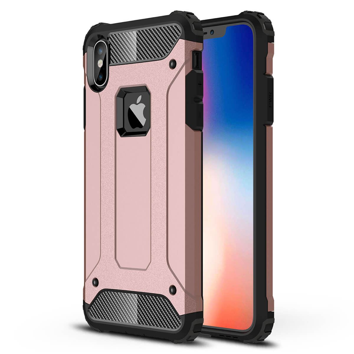 Shockproof-Bumper-Case-For-Apple-iPhone-10-X-8-7-Plus-6s-5s-Hybrid-Armor-Rugged thumbnail 22