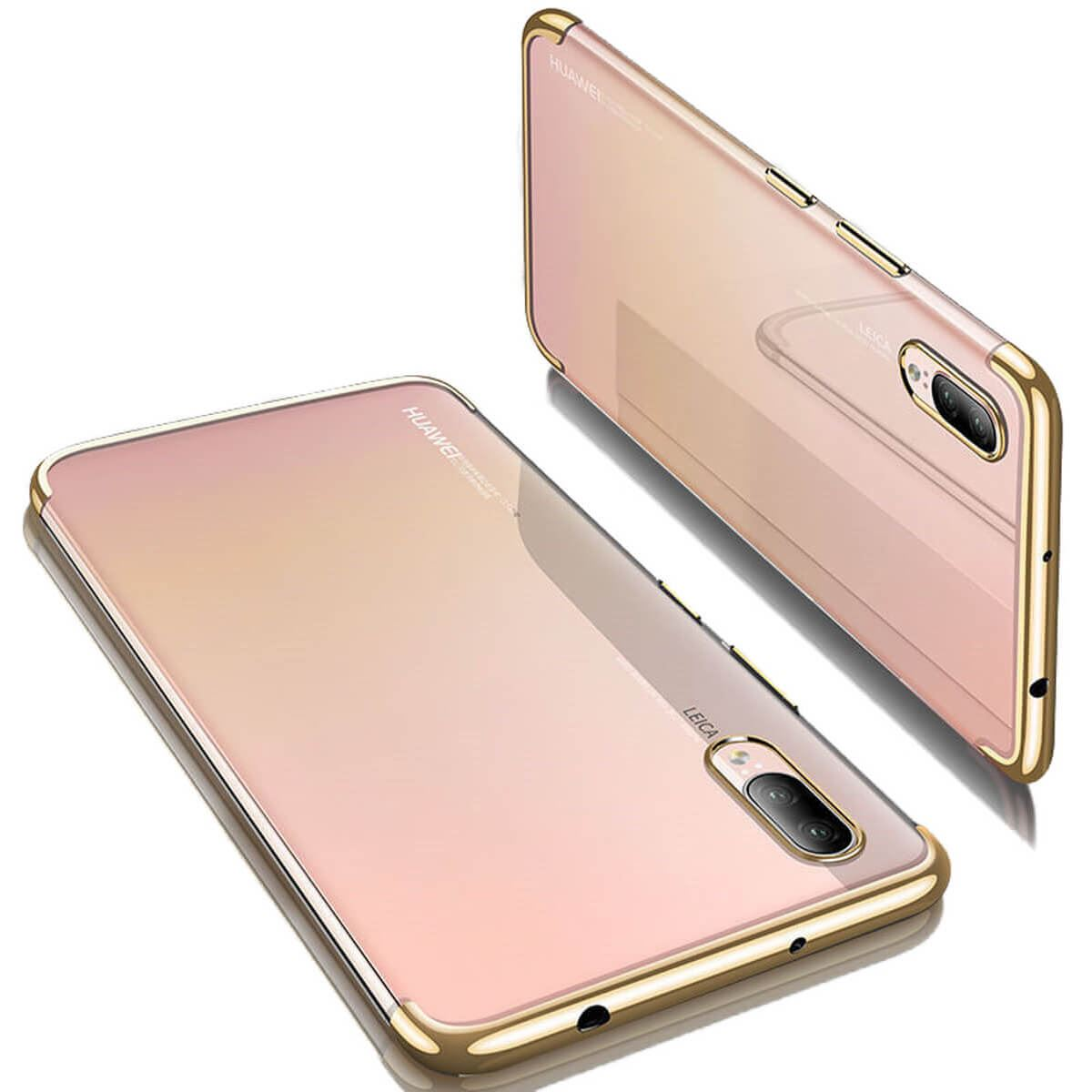 Case-For-Huawei-P20-Pro-P-Smart-Stylish-Hybrid-Shockproof-Plating-Silicone-Cover thumbnail 12