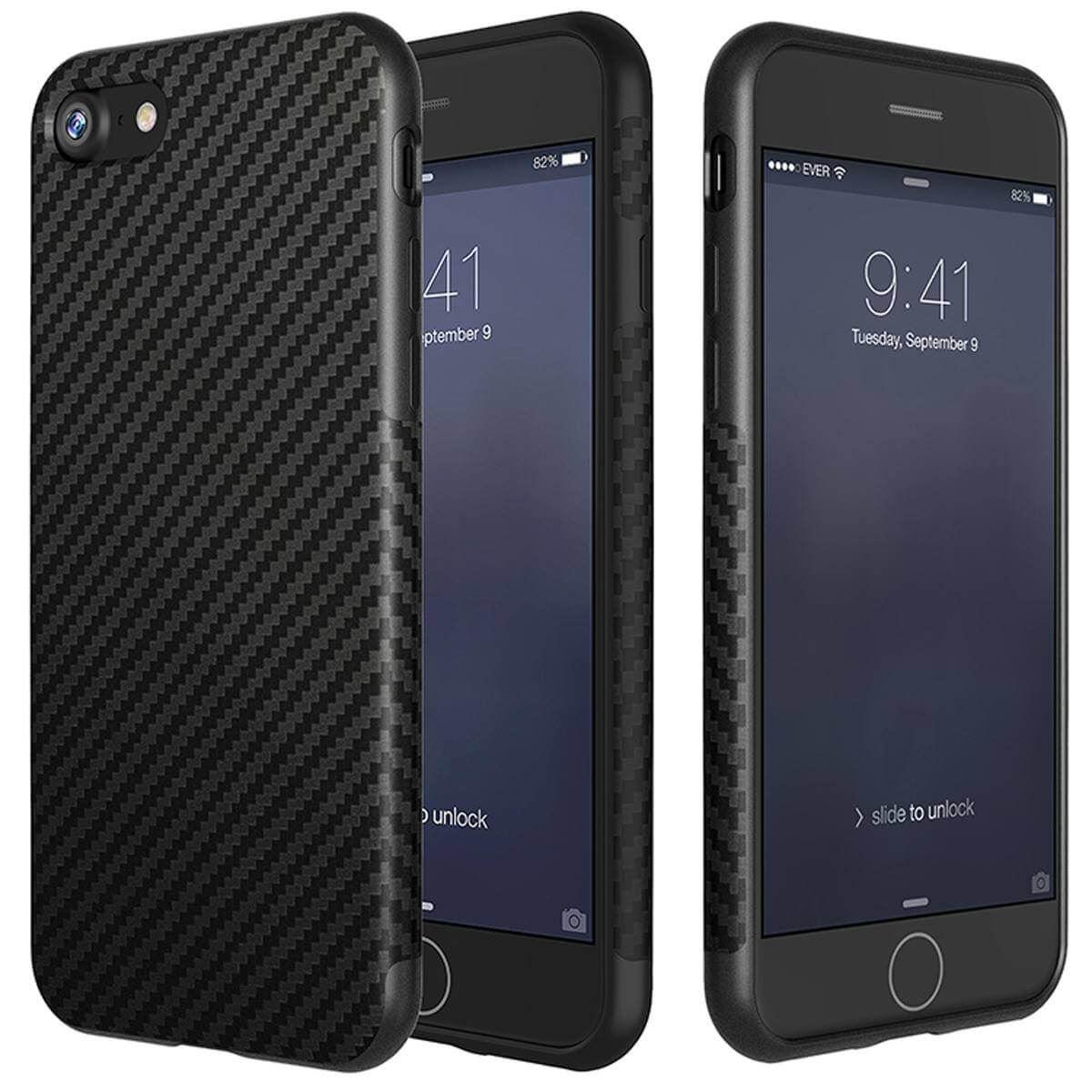 thumbnail 4 - Shockproof Carbon Fibre Case For Apple iPhone 10 X 8 Plus 7 6s Se 5 Thin Cover