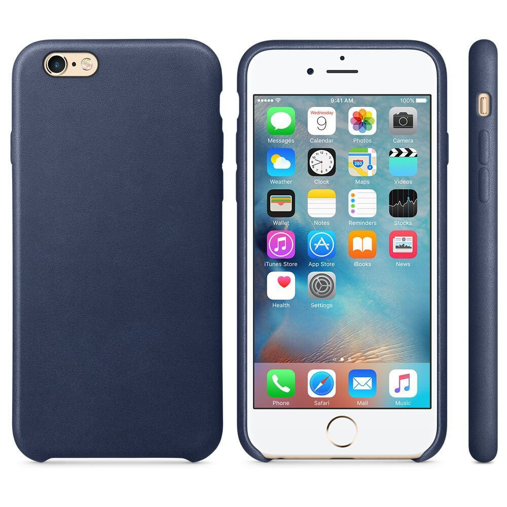 Original-PU-Soft-Silicone-Leather-Slim-Case-Cover-Apple-iPhone-10-8-7-Plus-6s-5 miniatuur 25