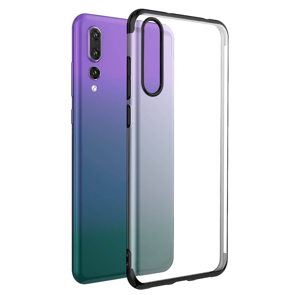 Case-For-Huawei-P20-Pro-P-Smart-Stylish-Hybrid-Shockproof-Plating-Silicone-Cover thumbnail 8