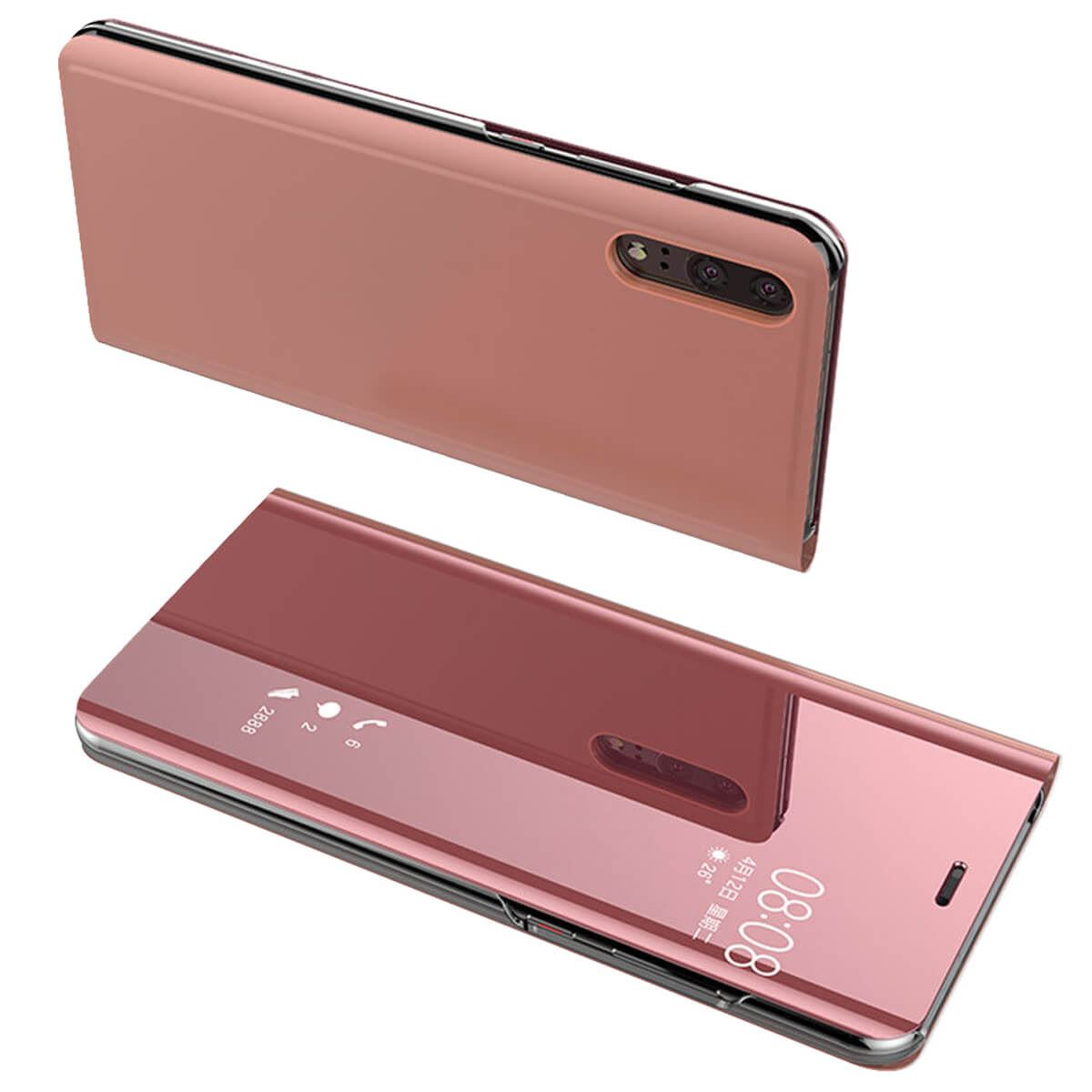 Case-For-Huawei-P20-Pro-Lite-Plus-P10-Smart-View-Mirror-Leather-Flip-Stand-Cover thumbnail 16