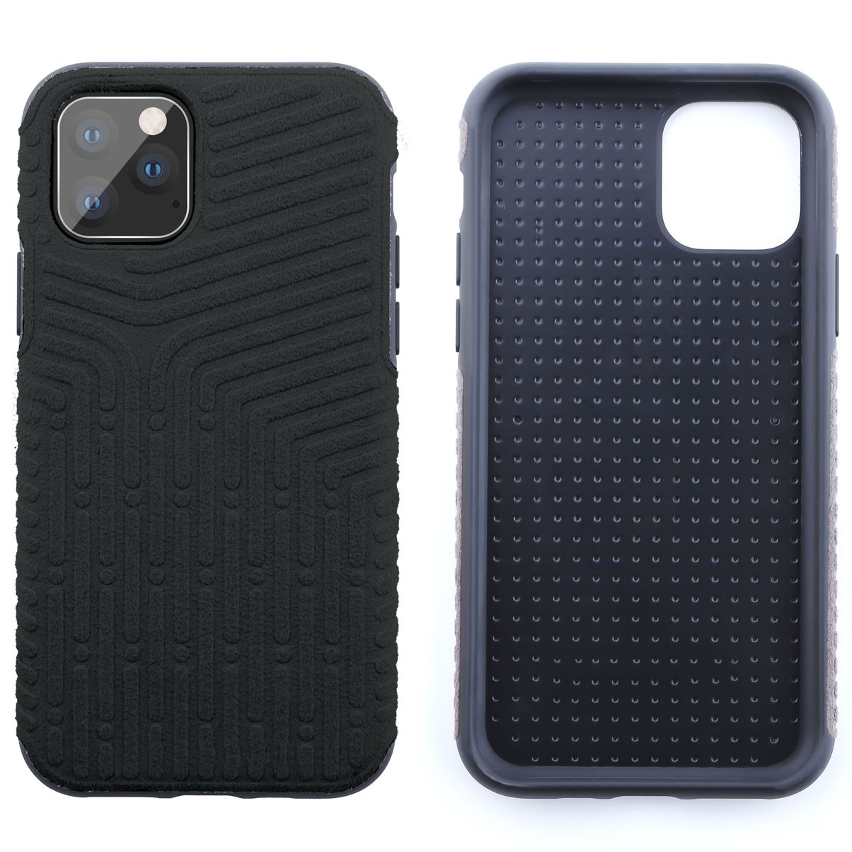 Shockproof-Back-Case-For-Apple-iPhone-11-Pro-Max-Alcantara-Soft-Suede-Cover thumbnail 5