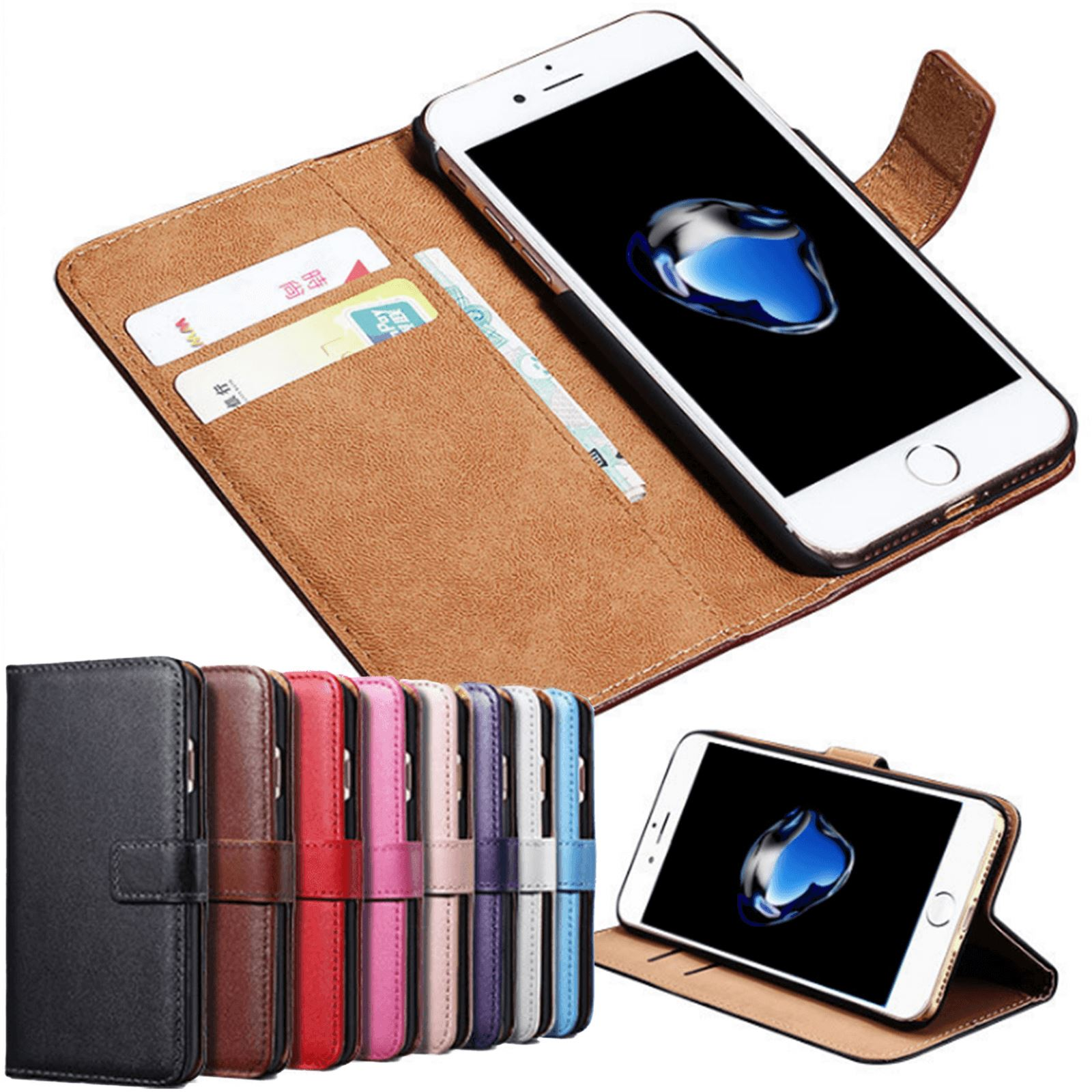Flip-Card-Wallet-Case-For-Apple-iPhone-11-Pro-Max-X-Luxury-Leather-Phone-Cover thumbnail 8