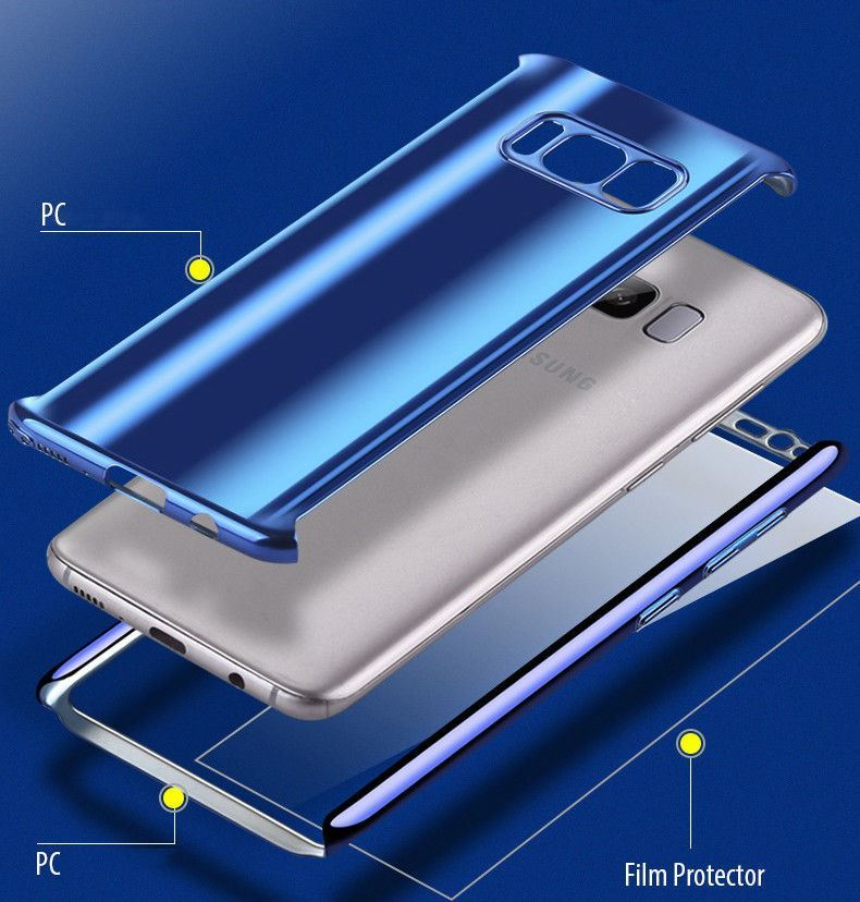 Shockproof-Hybrid-360-Ultra-Thin-Mirror-Hard-Case-Samsung-Galaxy-S7-edge-S8-S9 thumbnail 34