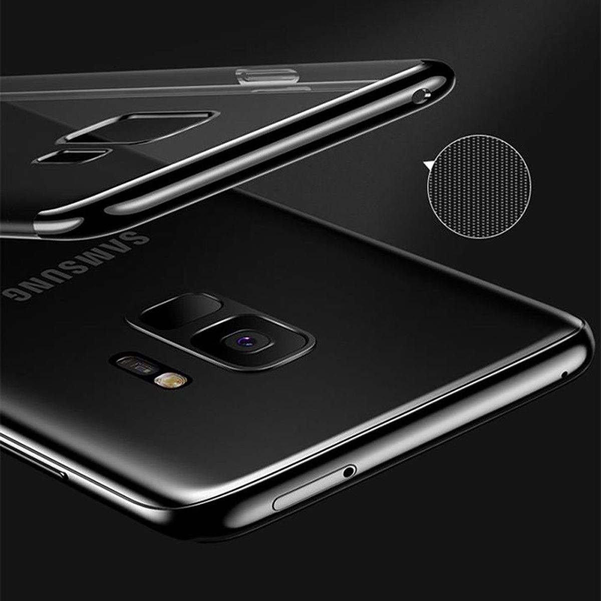 Luxury-Slim-Shockproof-Silicone-Clear-Case-Cover-For-Samsung-Galaxy-S7-S8-S9-A6 thumbnail 20