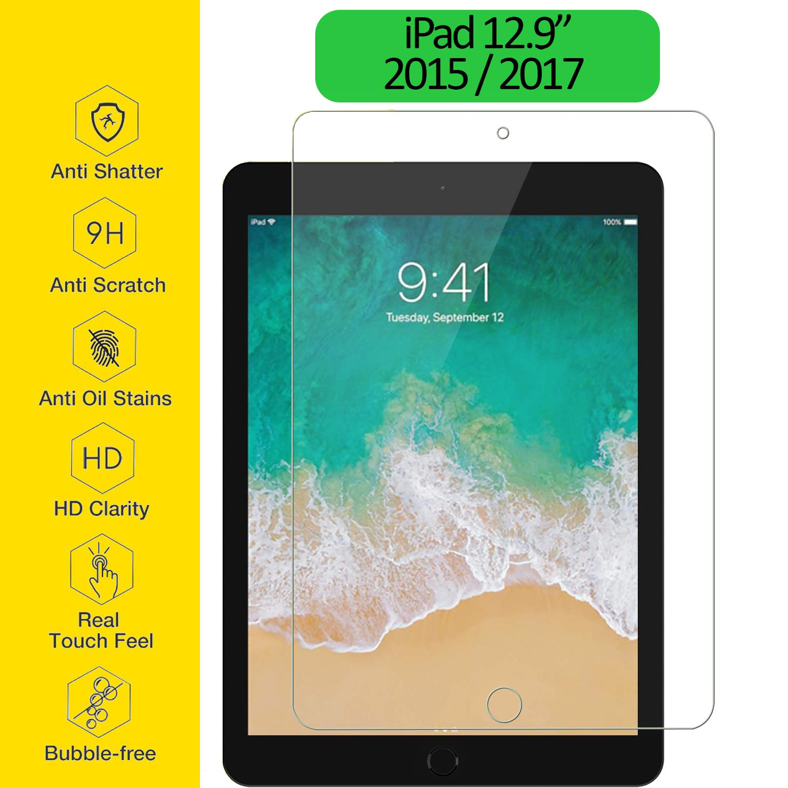 Screen Protector Film for iPad 2//3//4 Bubble Free High Definition Clear