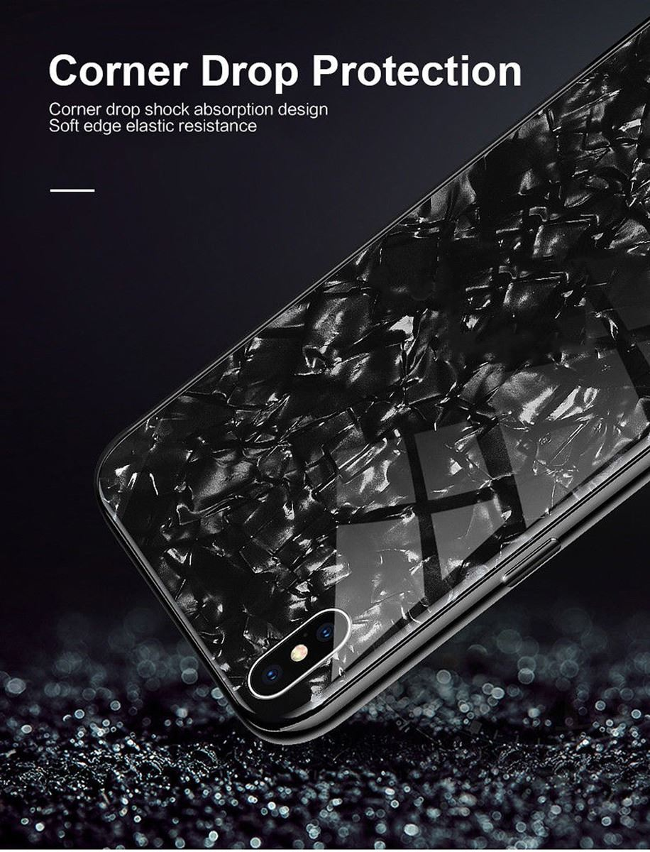 Luxury-Marble-Tempered-Glass-Case-Cover-For-Apple-iPhone-X-XS-XR-Max-10-8-7-6s-6 thumbnail 17
