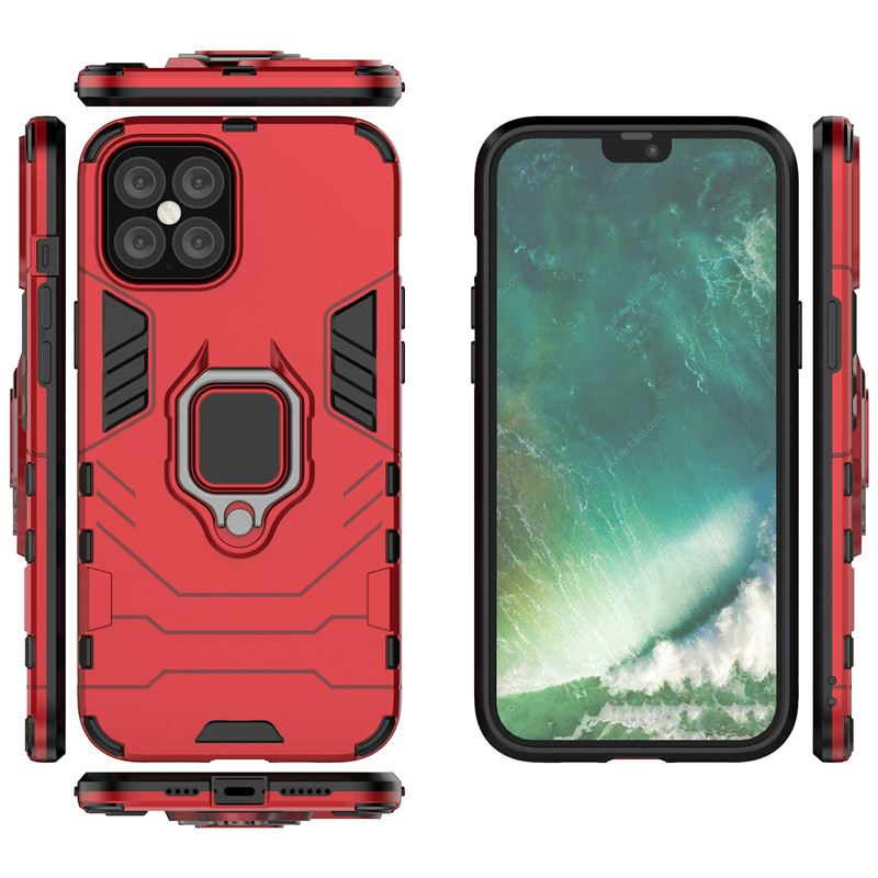 Hybrid-Pc-Case-Cover-For-Apple-iPhone-11-Pro-Max-X-6-7-8-Se-With-Ring-Holder thumbnail 19