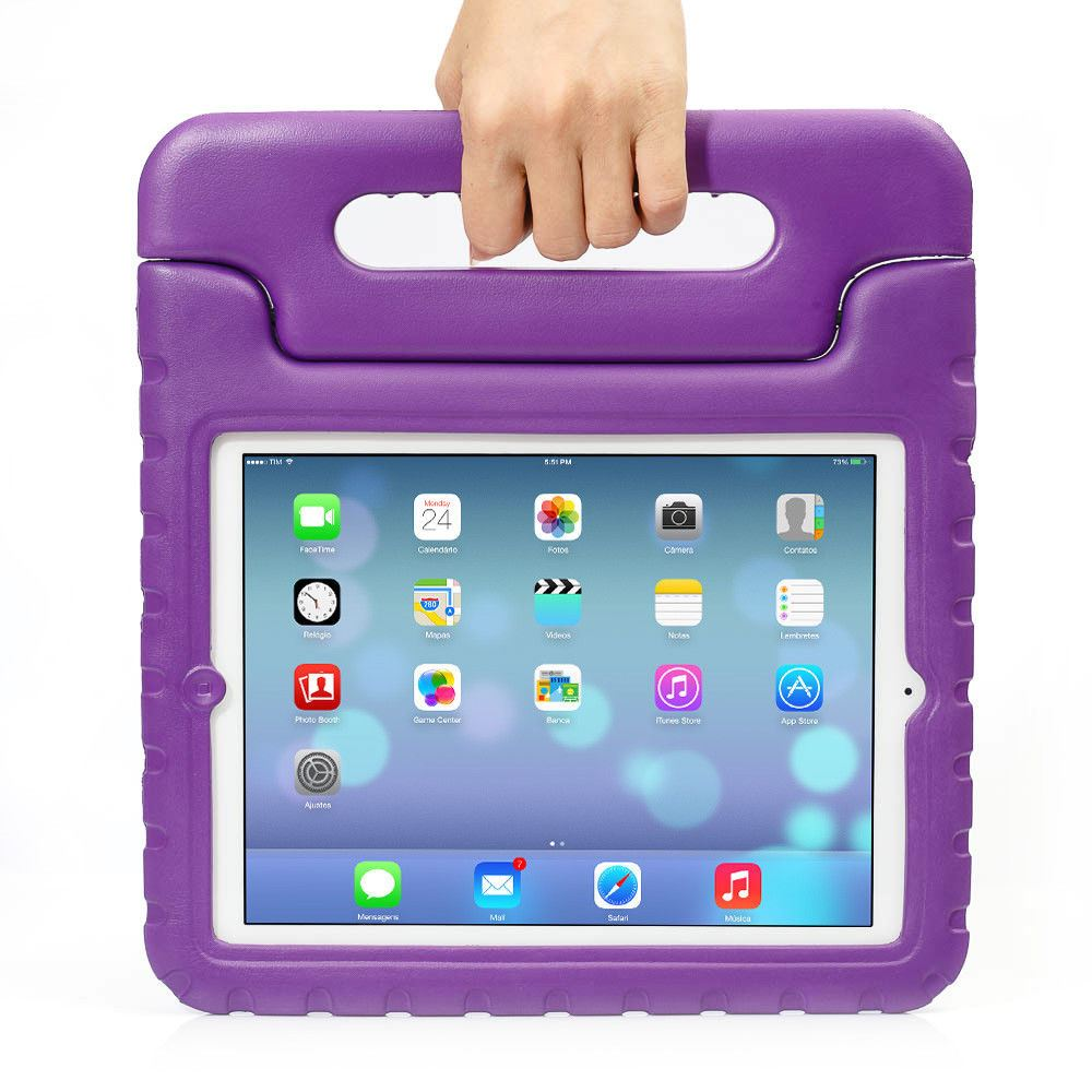 Kids-Shockproof-iPad-Case-Cover-EVA-Foam-Stand-For-Apple-iPad-Mini-1-2-3-4-Air-2 Indexbild 43