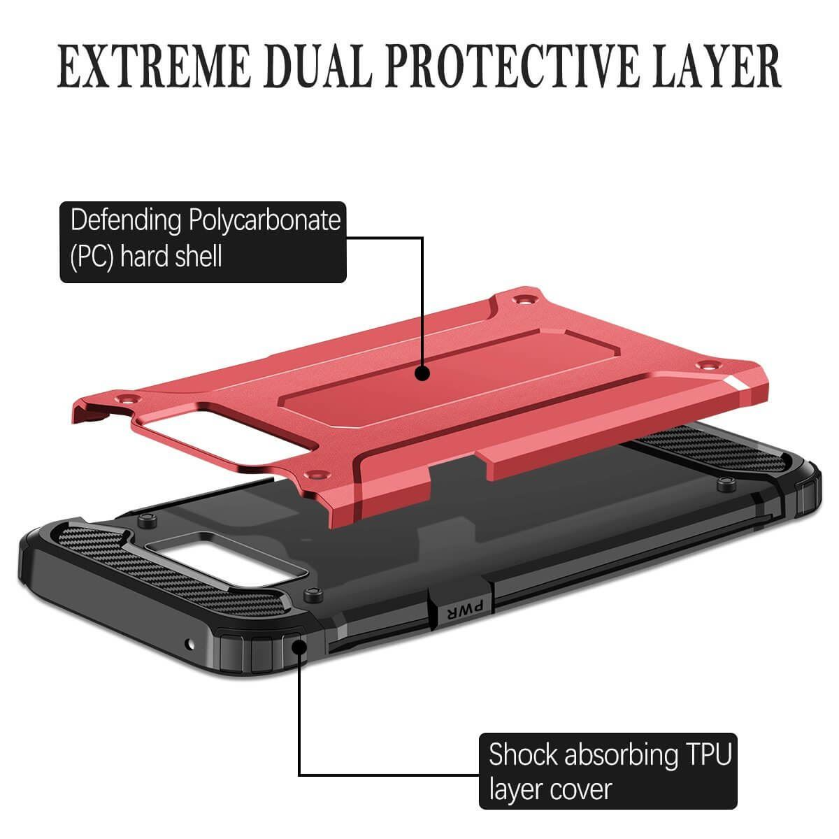 Hybrid-Armor-Shockproof-Rugged-Bumper-Case-For-Samsung-Galaxy-S7-Edge-S8-Note-S9 縮圖 38