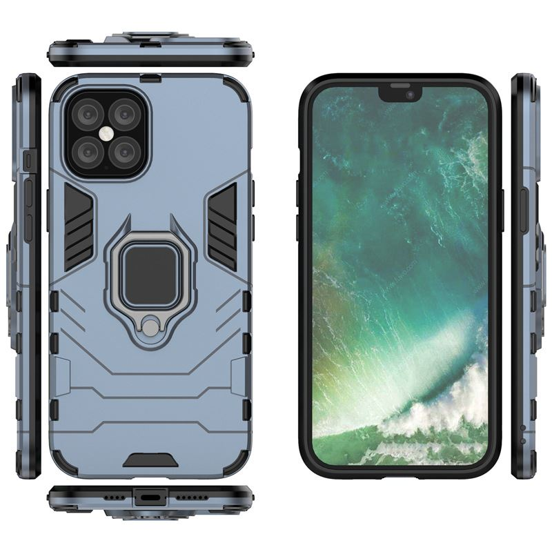 Hybrid-Pc-Case-Cover-For-Apple-iPhone-11-Pro-Max-X-6-7-8-Se-With-Ring-Holder thumbnail 27
