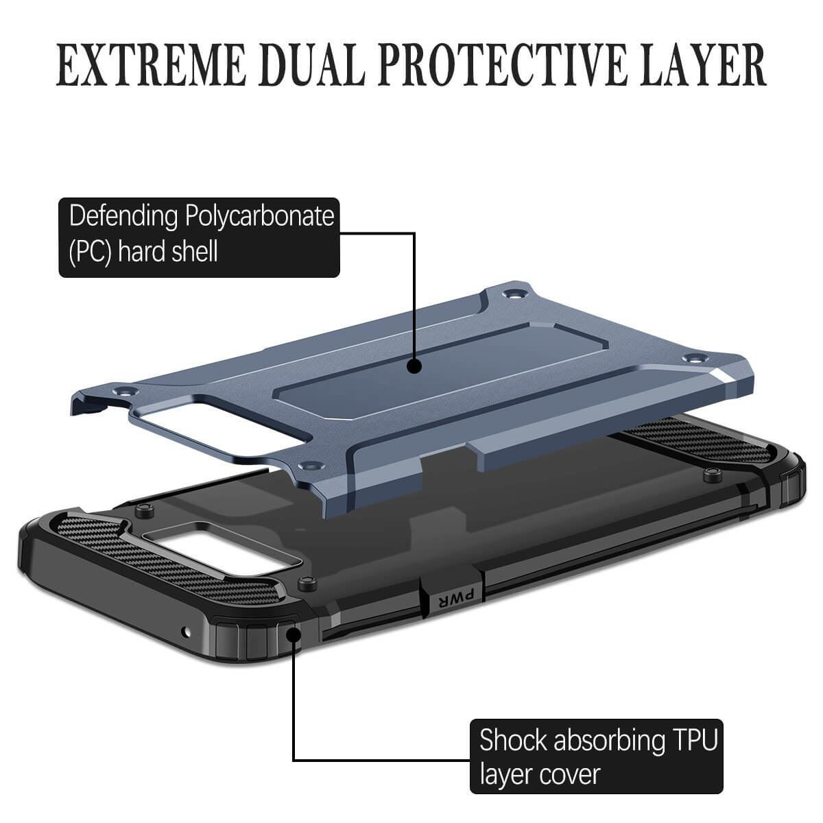 Hybrid-Armor-Shockproof-Rugged-Bumper-Case-For-Samsung-Galaxy-S7-Edge-S8-Note-S9 縮圖 46