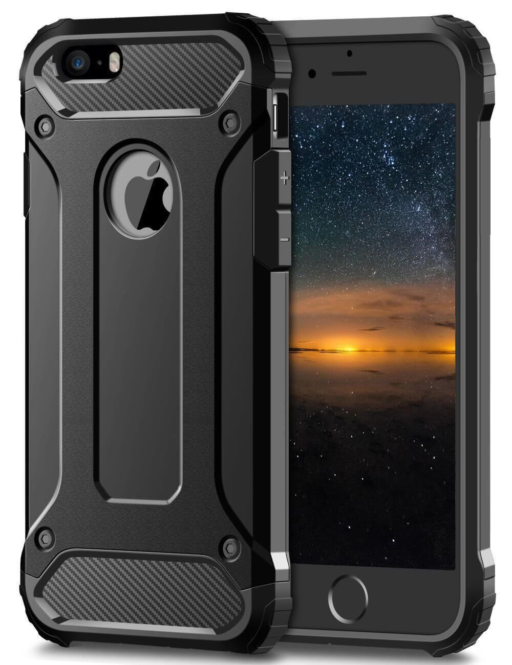 Hybrid-Armor-Shockproof-Rugged-Bumper-Case-For-Apple-iPhone-10-X-8-7-Plus-6s-5s miniature 30