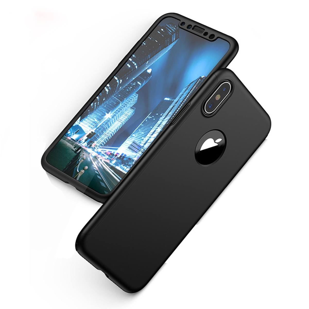 For-Apple-iPhone-XS-Max-XR-Hybrid-360-Slim-Ultra-Thin-Heavy-Duty-Shockproof-Case thumbnail 12